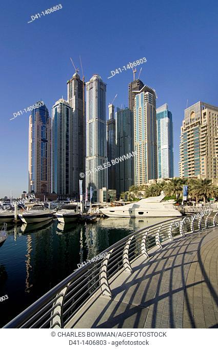 Middle east, UAE, United Arab Emirates, Dubai, Marina