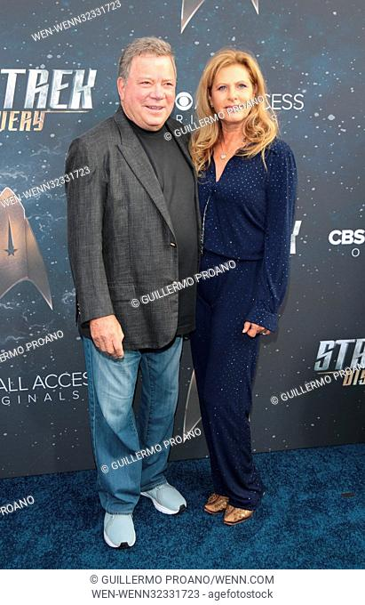 Premiere of CBS's 'Star Trek: Discovery' at The Cinerama Dome - Arrivals Featuring: William Shatner Where: Los Angeles, California
