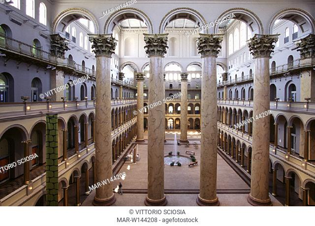 usa, washington d.c., national building museum