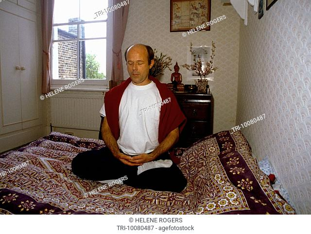Buddhist England Meditating At Home