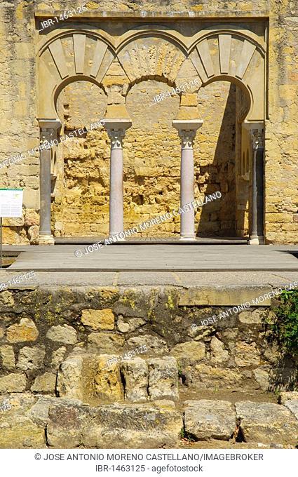 Ruins of Medina Azahara, palace built by Caliph Abd al-Rahman III, Córdoba, Andalusia, Spain, Europe