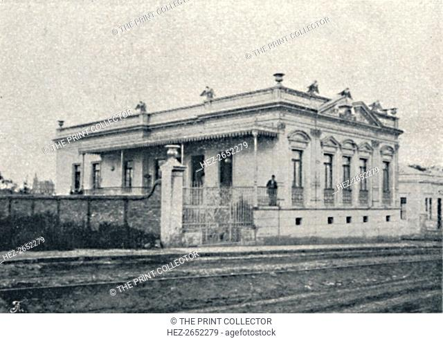 'Campos Elyseos - Casas Particulares em S. Paulo', 1895. From Sao Paulo by Gustavo Koenigswald. [S. Paulo, 1895]