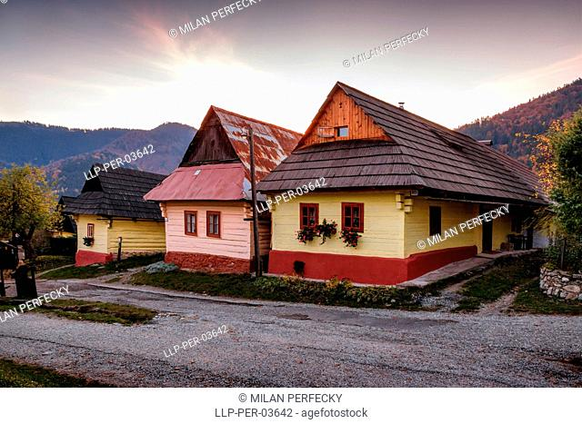Vlkolinec, Historical Village, UNESCO, Slovakia