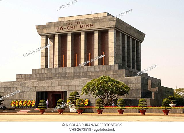 Ho Chi Minh Mausoleum. Hanoi. Vietnam