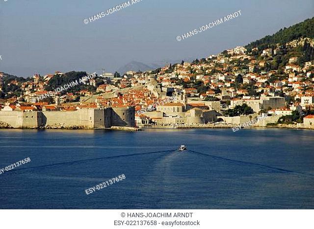 Hafenfront von Dubrovnik