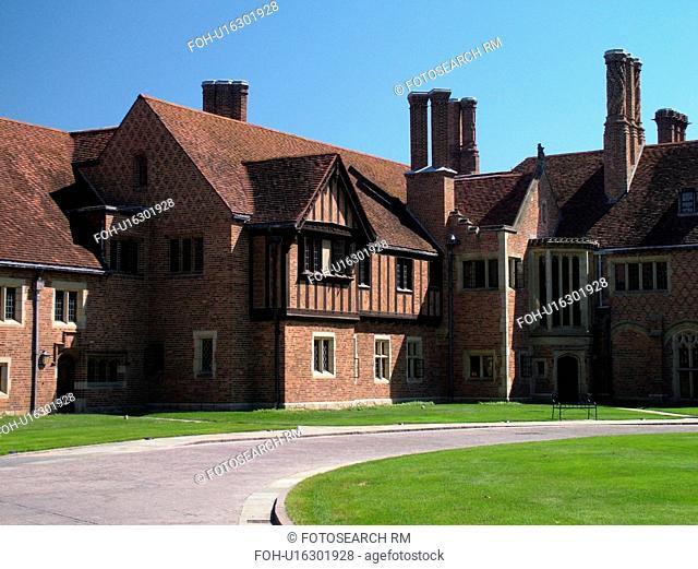 Rochester, Detroit, MI, Michigan, Oakland University's Meadow Brook Hall, 1920's Tudor Revival-style Mansion