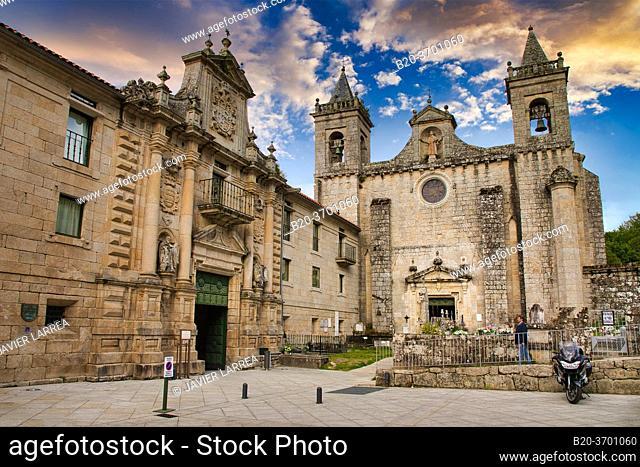 Monasterio de San Esteban, Mosteiro de Santo Estevo de Ribas de Sil, Ribeira Sacra, Ourense, Galicia, Spain