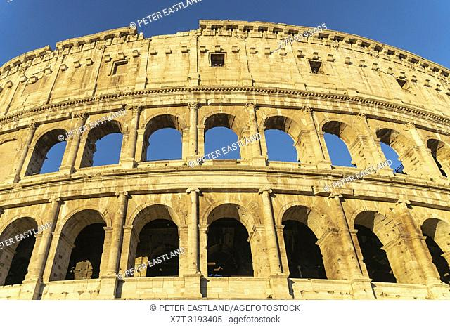 Early morning light on The Colosseum, Rome, Italy