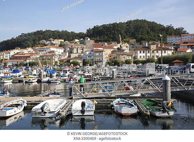 Port in Muros; Coruna; Galicia; Spain