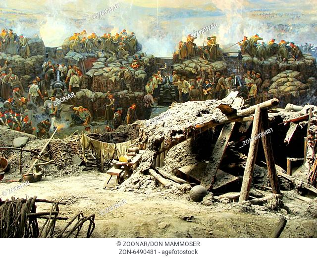 Section of the Siege of Sevastopol panorama, Defen