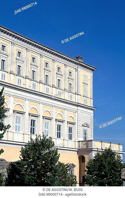 Farnese palace, 1559, by Jacopo Barozzi da Vignola (1507-1573), Caprarola, Lazio. Italy, 16th century