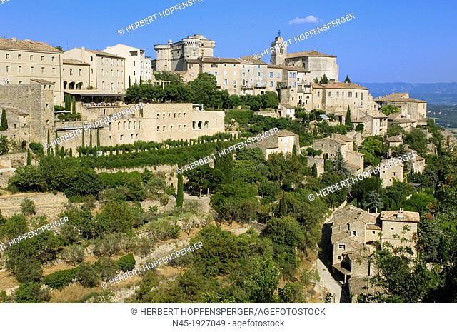 Gordes; Hill Village; Provence; France