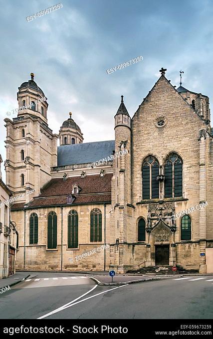 Saint Michel Church from 16 century in Dijon, France