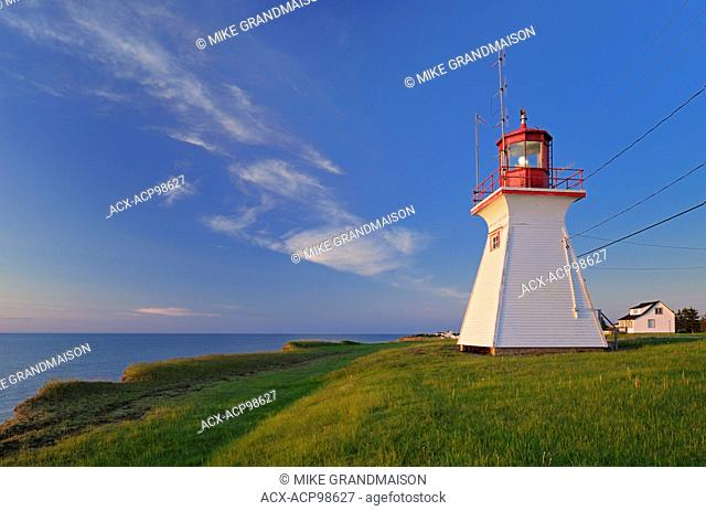 Richibucto Head (Cap Lumière) Lighthouse in Northumberland Strait Cap Lumiere New Brunswick Canada
