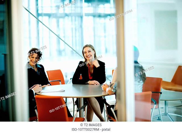 Business partners in a meeting