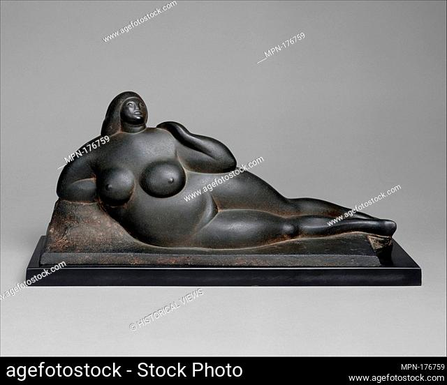 The Mountain. Artist: Gaston Lachaise (American (born France) 1882-1935); Date: 1913; carved 1919; Medium: Sandstone; Dimensions: H. 8-3/8 x W