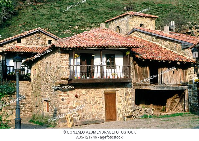 Barcena Mayor. Cabuerniga valley. Saja Nansa. Cantabria. Spain