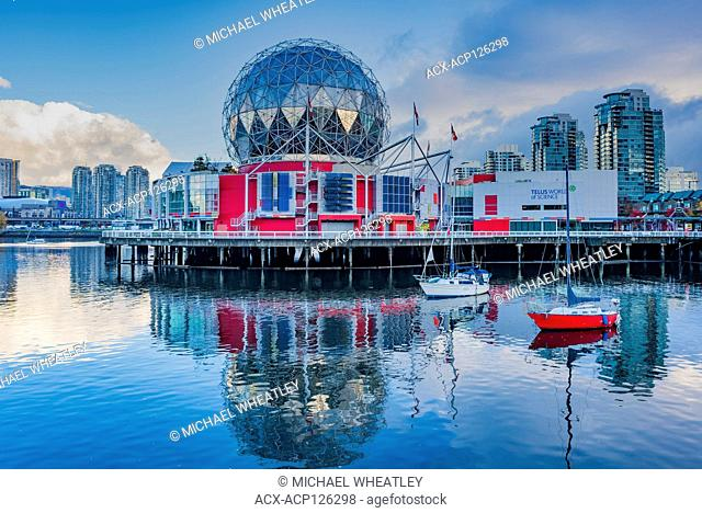 Telus World of Science, False Creek, Vancouver, British Columbia, Canada