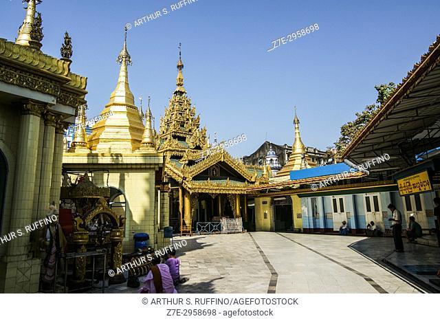 Sule Pagoda, Yangon, Myanmar