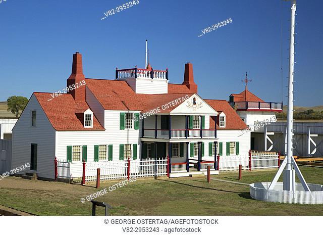 Bourgeois House, Fort Union Trading Post National Historic Site, North Dakota