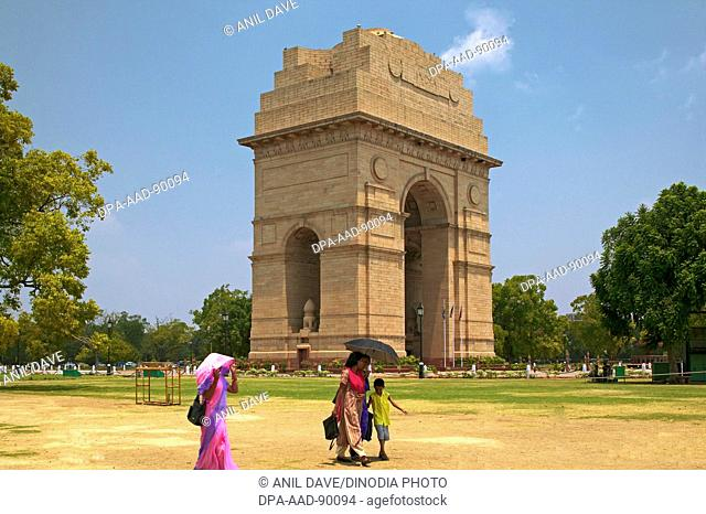 India gate, Architect Edwin Lutyens, New Delhi, India