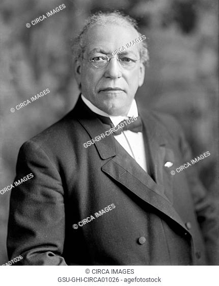 Samuel Gompers, U.S. Labor Leader, Portrait, circa 1915