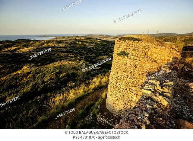 Castle of St. Águeda - Sent Agaiz-, before 1232, municipality of Ferrerías, Menorca, Balearic Islands, Spain, europe