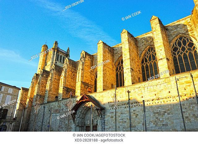 Saint Pierre Cathedral, Condom, Gers Department,Aquitaine, France