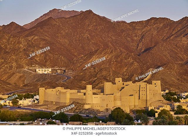 Sultanate of Oman, Ad-Dakhiliyah Region, Bahla Fort, UNESCO World Heritage Site