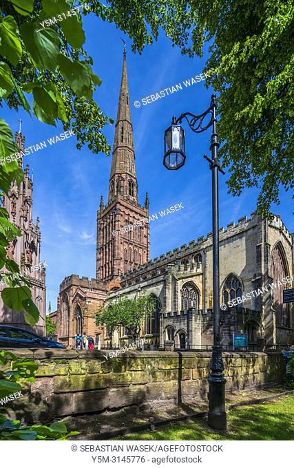 Holy Trinity Church, Coventry, West Midlands, England, United KIngdom, Europe