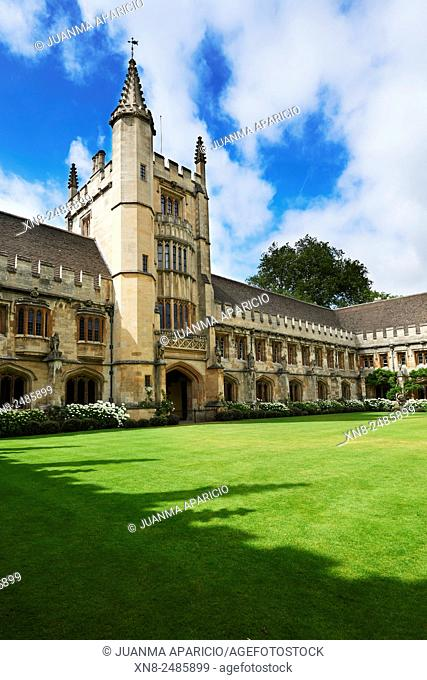Magdalen College, Oxford, Oxfordshire, Great Britain, Europe