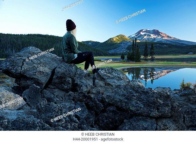 Oregon, Deschutes County, Bend, Sparks Lake MR