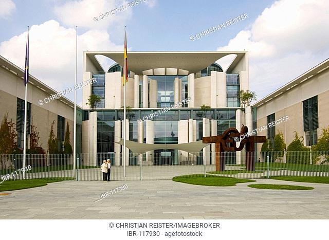 Office of the Federal Chancellor, Spreebogen, area of government administration, Berlin, Germany, Europe