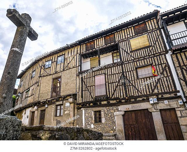 Arquitectura tradicional. La Alberca. Sierra de Francia. Salamanca. Castilla León. España