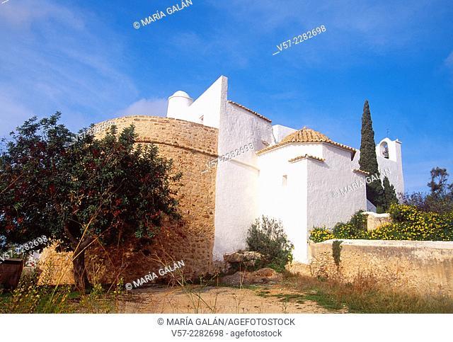 Puig de Missa. Santa Eularia des Riu, Ibiza island, Balearic Islands, Spain