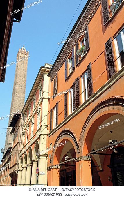 Bologna arcades Emilia Romagna Italy