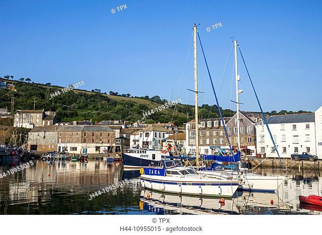 UK, United Kingdom, Europe, Great Britain, Britain, England, Cornwall, Mevagissey, Coast, Coastal, Harbour, Harbours, Seaside, Fishing Village, Fishing Boat