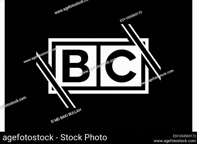 B C, BC Initial Letter Logo design vector template, Graphic Alphabet Symbol for Corporate Business Identity