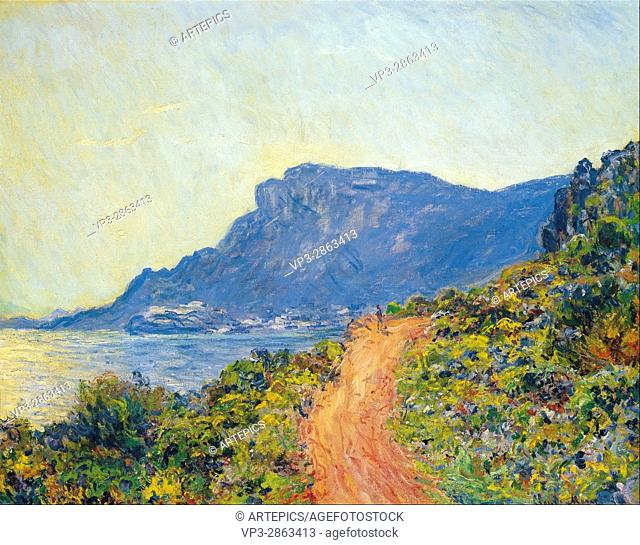 Claude Monet - La Corniche near Monaco - Van Gogh Museum, Amsterdam