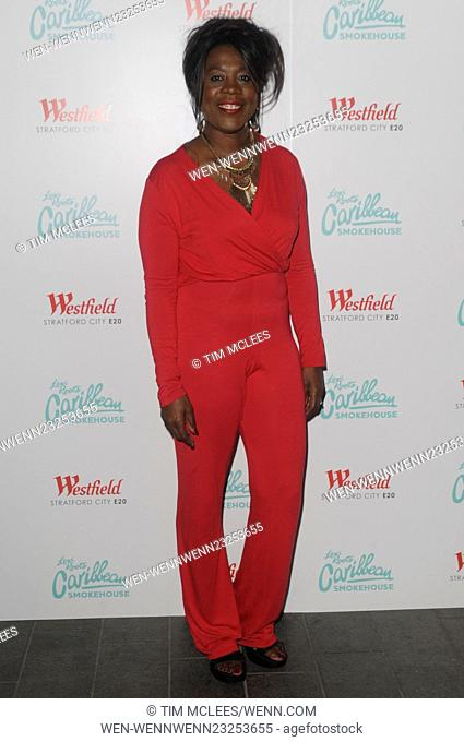 Various celebrities attend Levi Roots Caribbean Smokehouse restaurant launch party Featuring: Tessa Sanderson Where: London