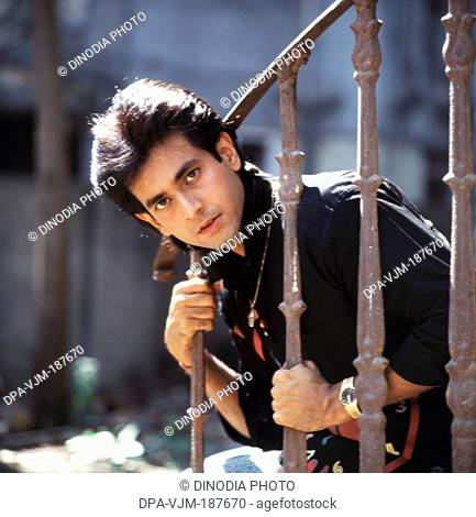 1990, Portrait of Indian film actor and singer Rohan Kapoor