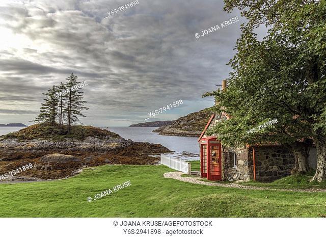 Loch Inver, Assynt, Sutherland, Scotland, United Kingdom