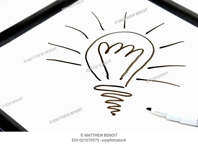 Light-bulb Doodle