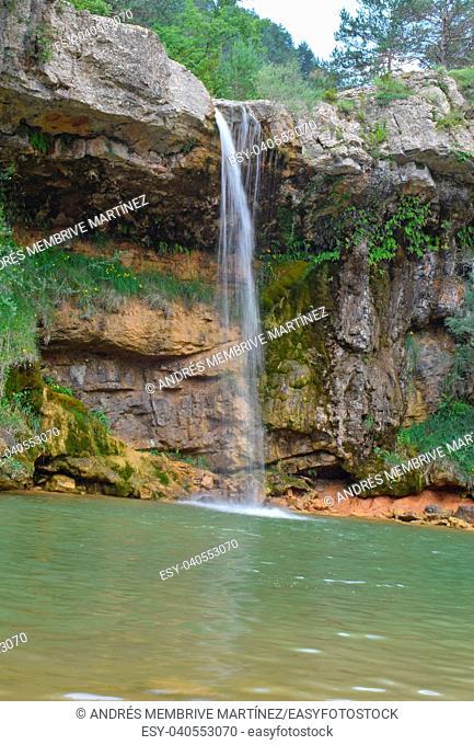 Seven waterfalls of Campdevanol, Girona province, Spain