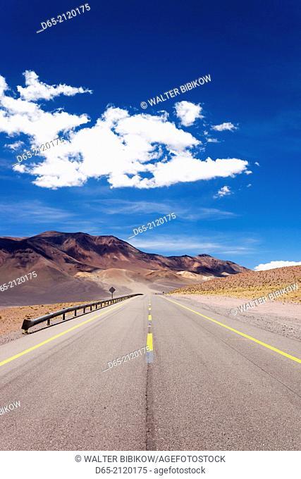 Chile, Atacama Desert, Ruta 27 CH highway