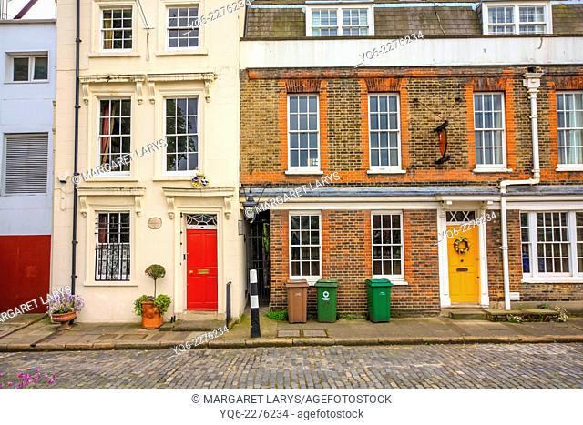 Apartment Block in London, UK