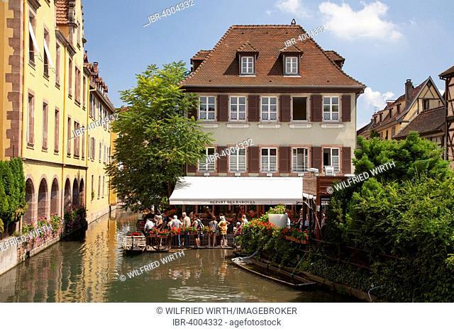 Pier, La Petite Venise, Colmar, Alsace, France