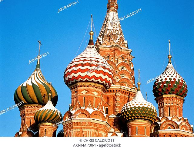 St. Basil's Cathedral, Close Up