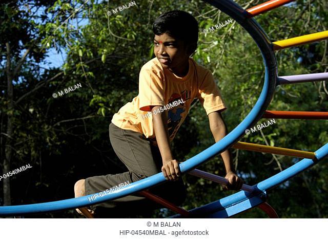 CHILDRENS PARK AT AKKULAM TOURIST VILLAGE NEAR AKKULAM LAKE TRIVANDRUM