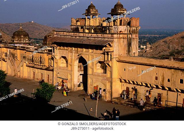 Amber Fort, main entrance. Jaipur. India